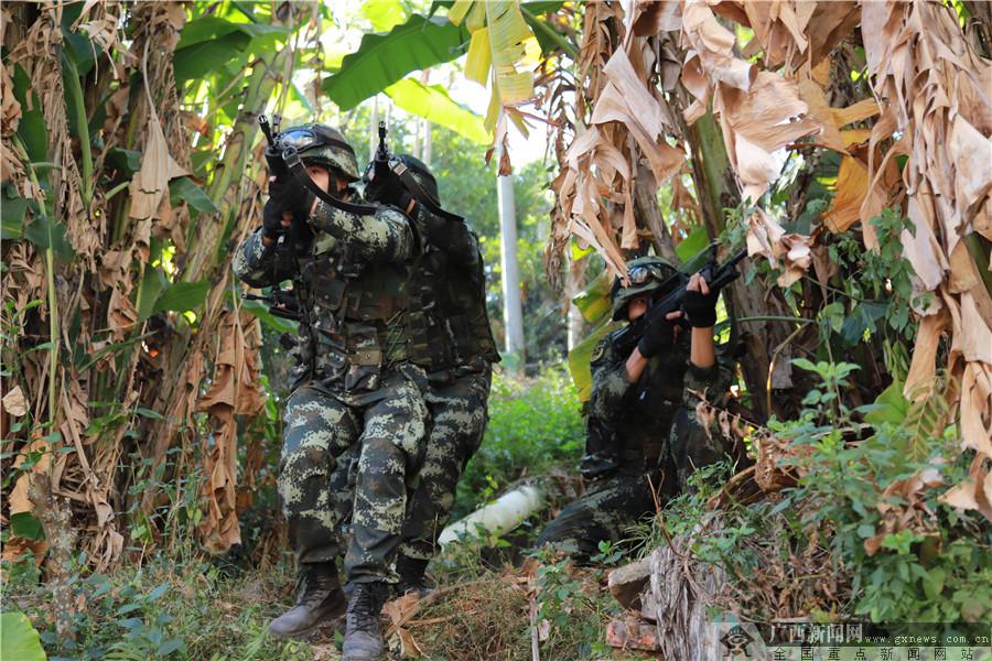 武警广西总队玉林支队紧贴实战需求 强化基层应急班训练