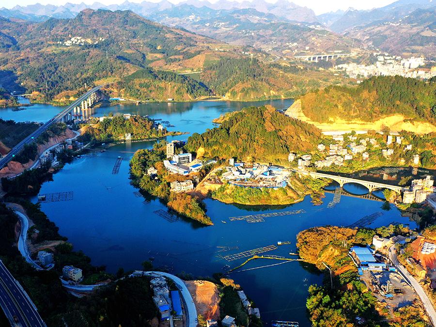 【高清】河池東蘭縣:紅水河畔美如春