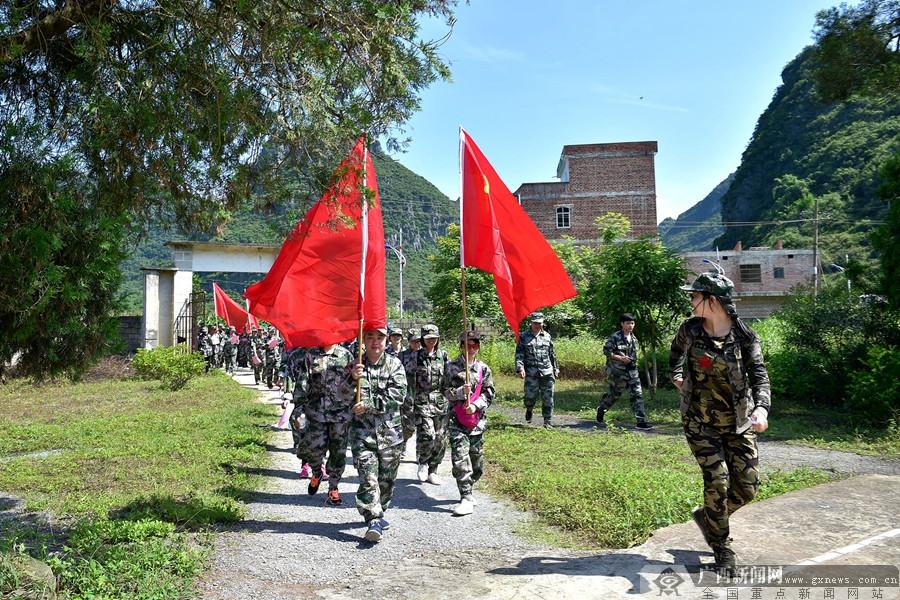 马山县:打造红色旅游基地 助老区群众脱贫增收
