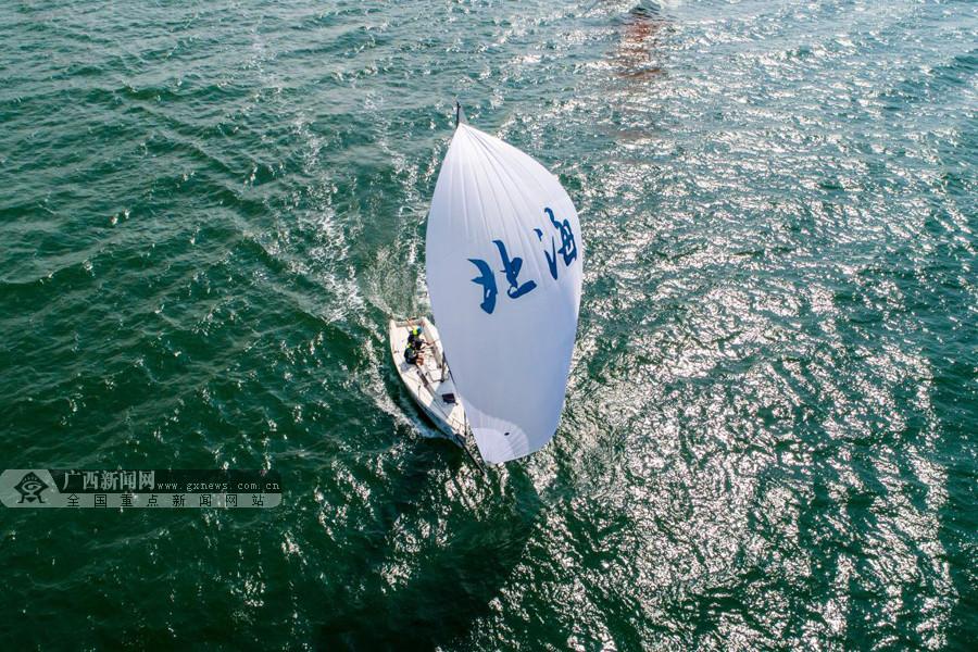 """""""一带一路""""国际帆船赛北海站落幕:""""北海号""""捧杯"""