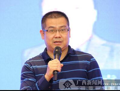 南宁市邕宁区百济镇中心卫生院院长陆瑞年发言。