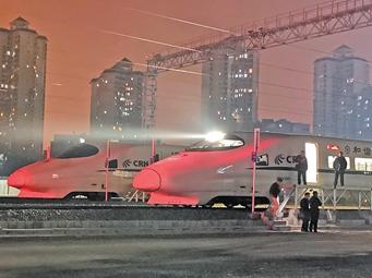 12月30日焦点图:柳州有了动车存车场