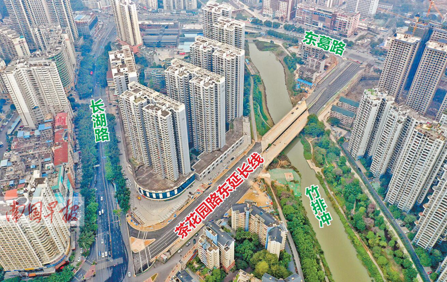 12月31日焦点图:南宁三条道路同日通车