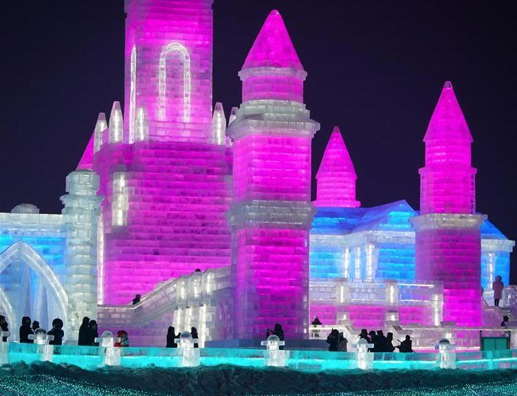 第36届中国・哈尔滨国际冰雪节开幕