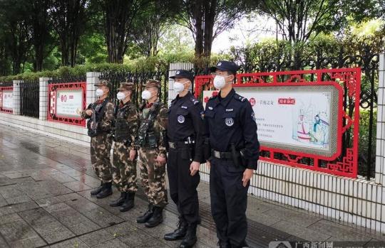 【新春走基层】万家团圆日 邕城民警守护平安