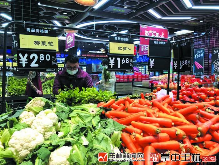 玉林:各超市供应充足,价格如常