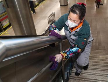上海地铁强化防控措施
