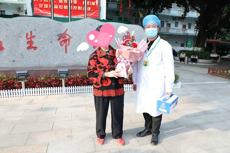 南宁又有1例新冠肺炎患者治愈出院