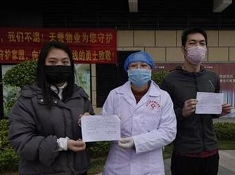 視頻|南寧良慶區首個封閉式隔離小區解除隔離