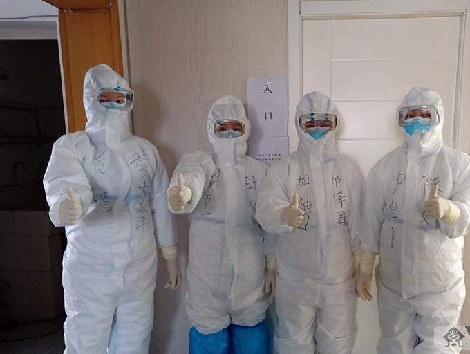 广西第五批赴湖北抗疫医疗队:与时间赛跑