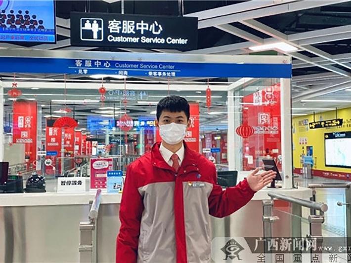焦点图:2月26日起南宁地铁全线网恢复正常运营