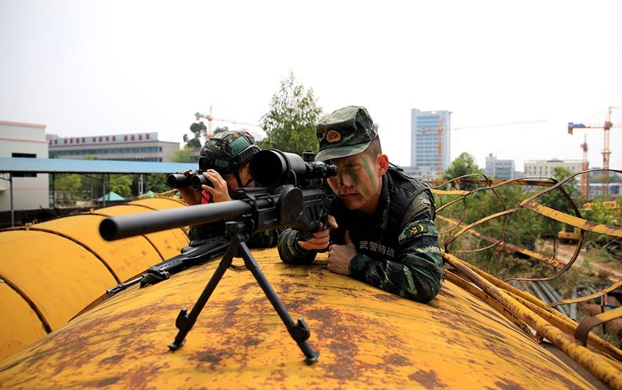 广西贵港:防疫不忘练兵 锻造反恐打赢能力