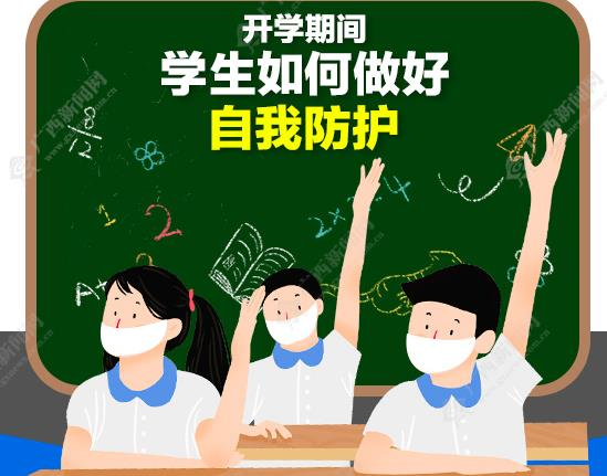 图解|学生返校必看!开学期间,如何做好自我防护