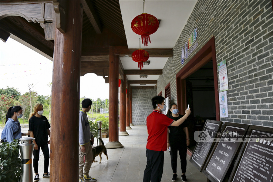 灵山县旅游景区有序恢复开放