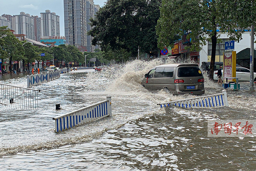 3月26日焦点图:最深1.4米!南宁暴雨致34处内涝