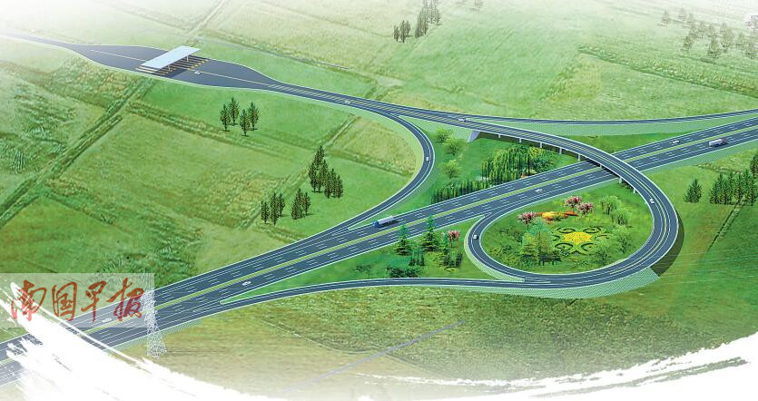 3月29日焦点图:广西集中开工十三条高速公路