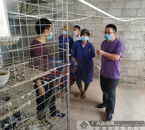 南宁市西乡塘区:科技助力 专家下乡服务贫困户