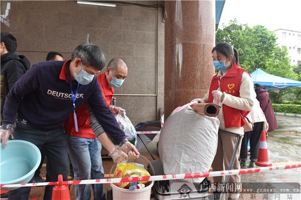 浦北县:志愿者服务助力复学复课