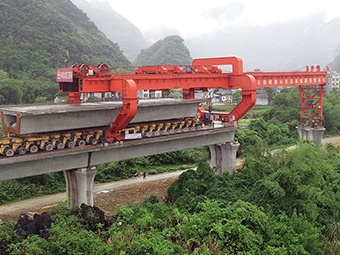 4月9日焦点图:贵南高铁都安段最新进展来了