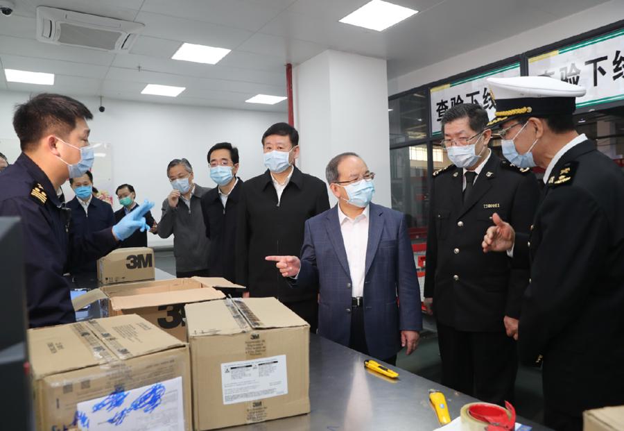 广西援鄂医疗队员完成任务全部返桂 鹿心社作批示