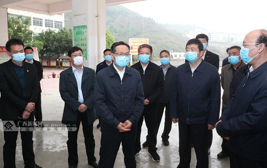 陈武深入西林、隆林调研:确保完成脱贫攻坚任务