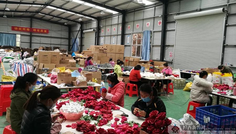 上林县:狠抓项目助推深度贫困村脱贫摘帽