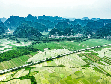 广西上林:乡村田园美如画卷