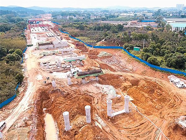 """4月23日焦点图:柳州北进""""大动脉""""或明年6月贯通"""