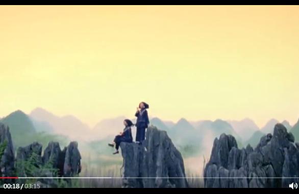 """歌曲MV《""""云端""""嘹歌壮乡情》"""