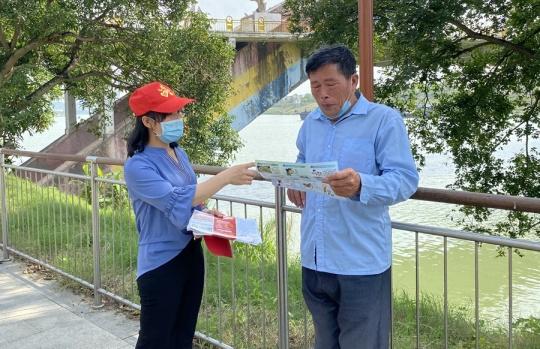 """南宁市邕宁区构建""""四位一体""""防溺水安全网"""