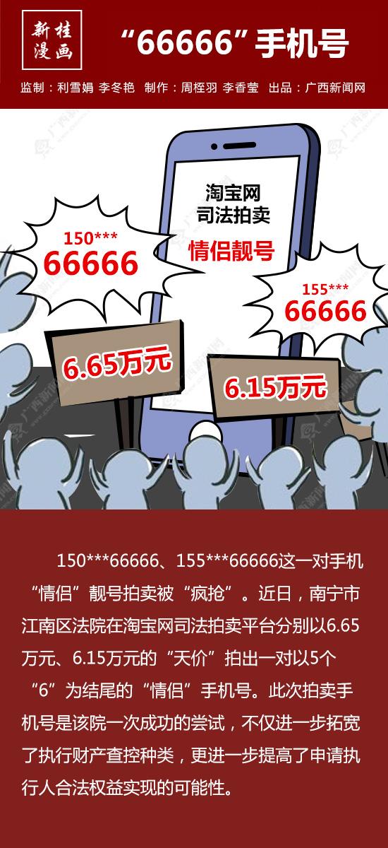 """【新桂漫画】""""66666""""手机号"""