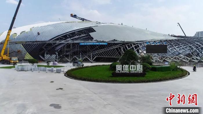 杭州亚运会主体育馆和游泳馆年底竣工