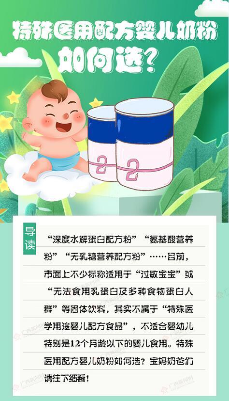 【图解】特殊医用配方婴儿奶粉如何选?