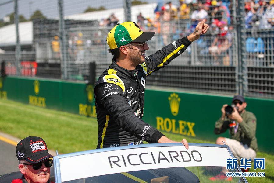 F1:里卡多将加入迈凯伦车队
