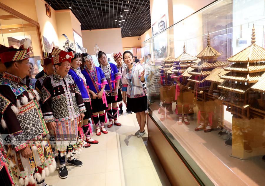 三江:市民走进侗乡博物馆感受历史魅力