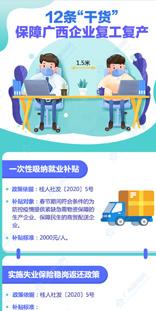 """12条""""干货""""保障广西企业复工复产"""
