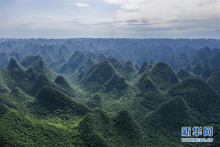 飛閱廣西木論國家級自然保護區