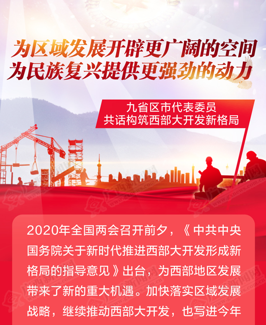 九省区市代表委员共话构筑西部大开发新格局