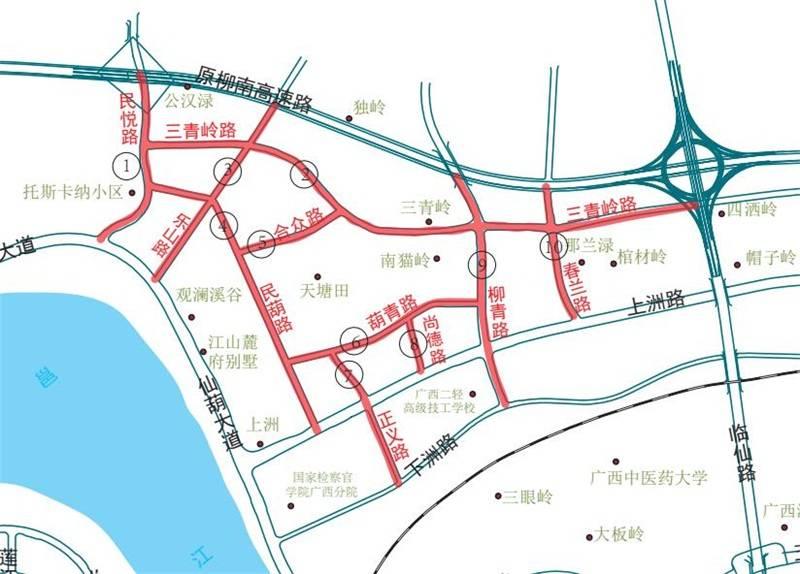 5月27日焦点图:手机pt电子技巧仙葫片区这10条道路正式命名