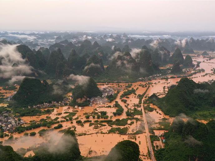 持续强降雨造成广西超32万人受灾