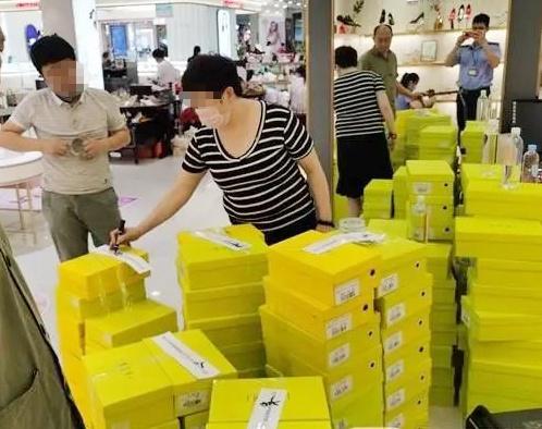 广西一商场卖的名牌鞋也有假!涉案鞋金额达50多万