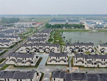 江苏泗阳:推进农房改善 建设美丽社区