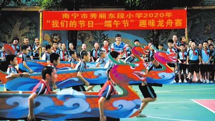 南宁各校带领学生挖掘传统节日文化内涵