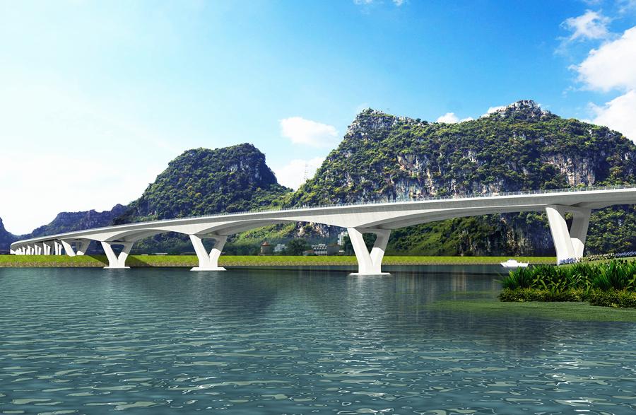 8月15日焦點圖:柳州要新建的大橋效果圖來了