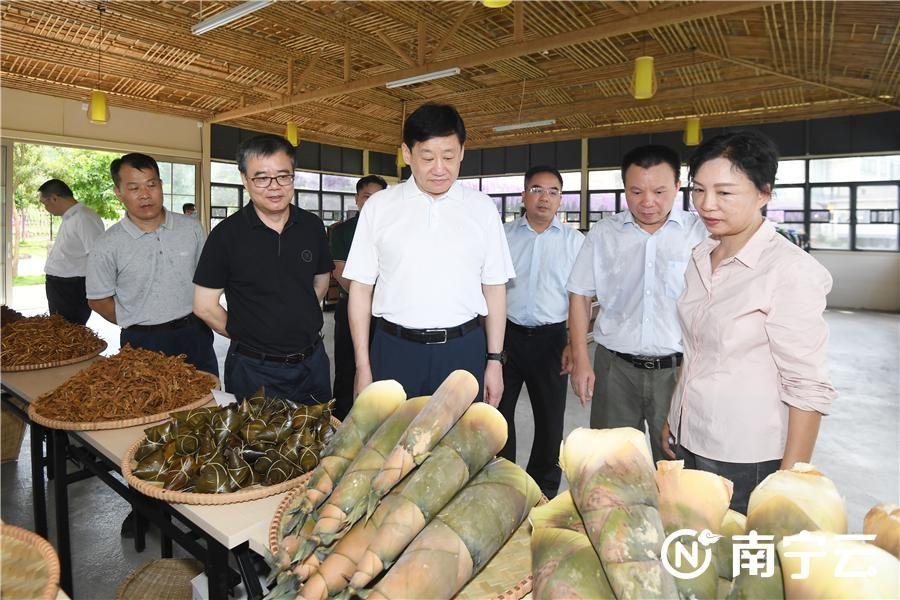 王小东深入上林县调研指导脱贫攻坚工作