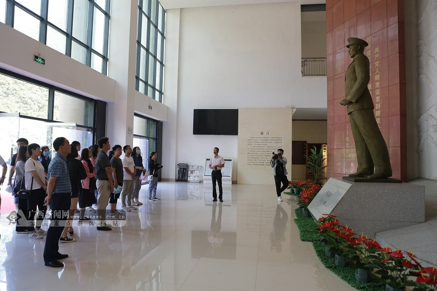 【广西双拥行】走进壮乡英雄文化园 感受红色历史传承