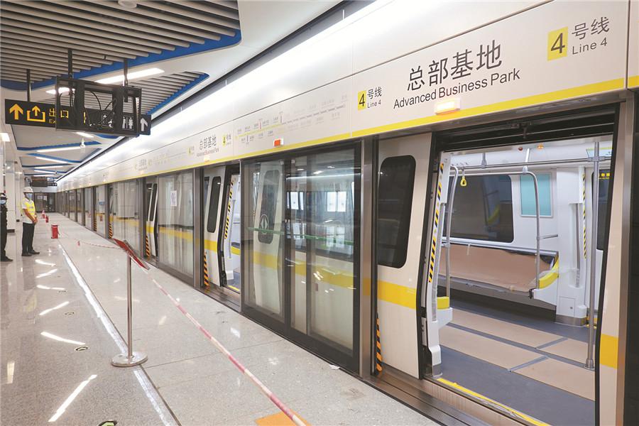 9月12日焦点图:南宁两条地铁线开通倒计时