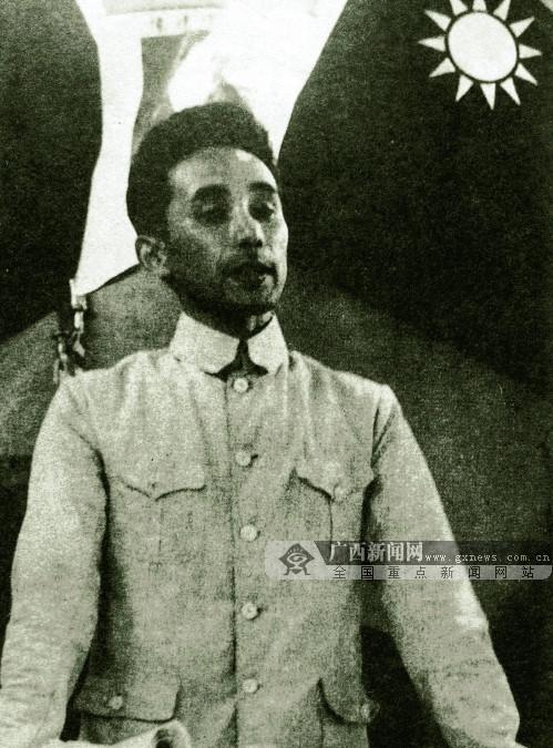 图为在华日本人反战同盟西南支部创始人鹿地亘。(广西壮族自治区档案馆供图)