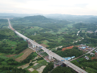 9月14日焦點圖:平陸運河特大橋合龍 年底建成通車