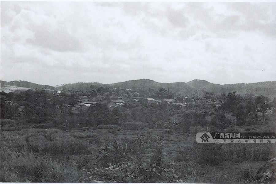 1945年1月14日,中共横县县委领导抗日武装共300多人,在横县镇江四排岭与日军战斗,打死打伤日军19人。图为横县镇江四排岭战斗旧址。(广西壮族自治区档案馆供图)